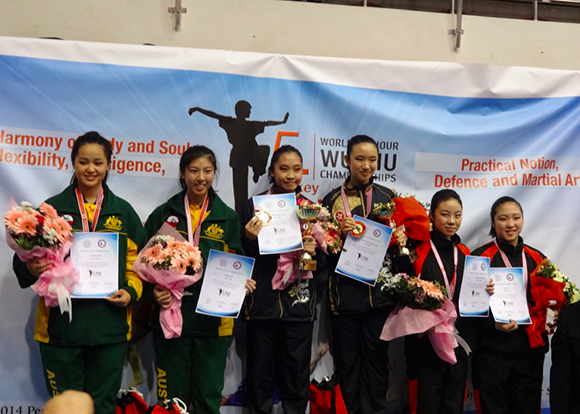 Silver Medal for Australia in Turkey_March2014